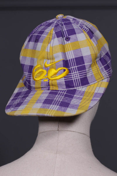 Yellow & Blue Mens Cap - leftover.pk