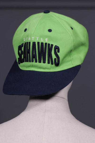 Men Light Green & Brown Cap Seahawk-107 - leftover.pk