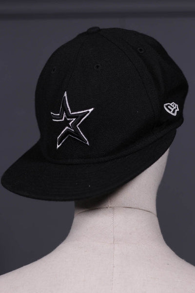 Men Black Cap Star-107 - leftover.pk