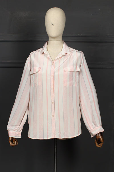 Pink & White Fusion Top - 1208 - leftover.pk