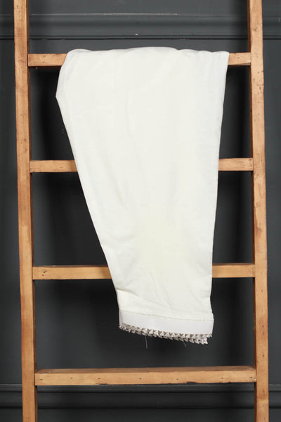 (B-04) Embroidered Cotton Shalwar (126-WS-011) - leftover.pk