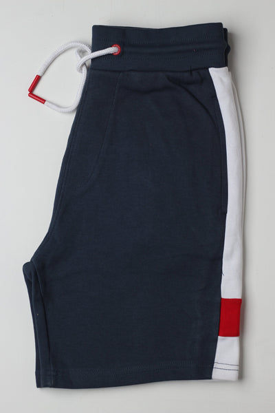 Sneaker Freak Blue Men Shorts - leftover.pk