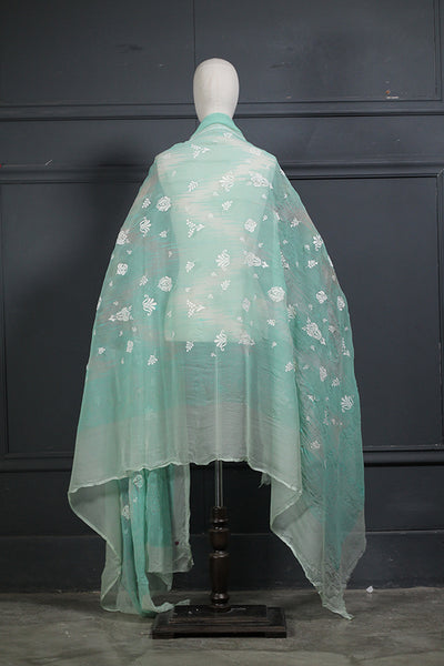 Chiffon Digital Printed Dupatta (805-DP-017) - leftover.pk