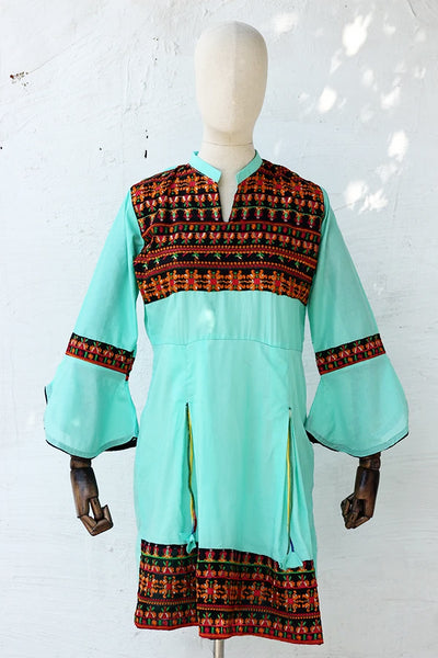 (C02) Embroidered Lawn Kurta (KR-10-08-08) - leftover.pk