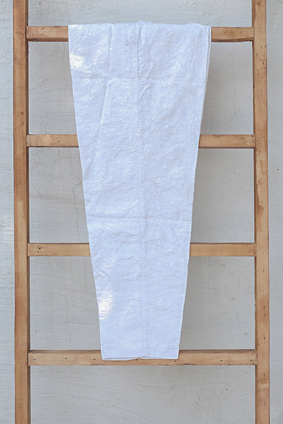 Fully Embroidered Cotton Trousers (225-TR-003) - leftover.pk