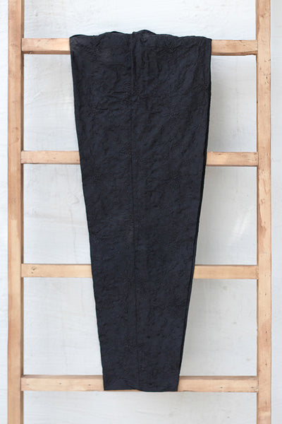 Fully Embroidered Cotton Trousers (225-TR-006) - leftover.pk