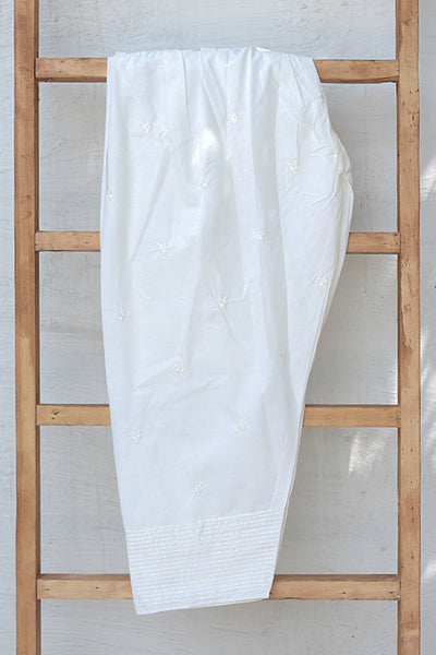 Fully Embroidered Cotton Shalwar (225-TR-022) - leftover.pk