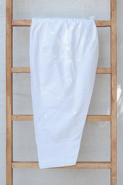 Fully Embroidered Cotton Shalwar (225-TR-023) - leftover.pk
