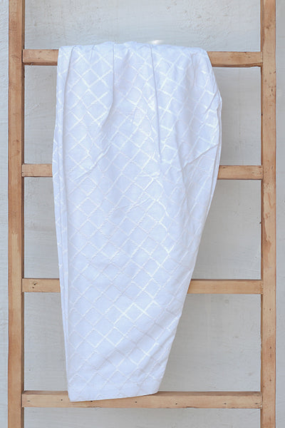 Fully Embroidered Cotton Shalwar (225-TR-018) - leftover.pk