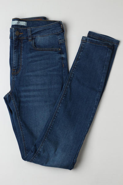 JDY ladies Blue Denim jeans - leftover.pk