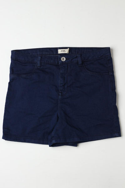 Ovs high waist ladies Blue shorts - leftover.pk
