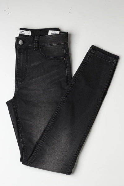 Mtr ladies Black jeans - leftover.pk