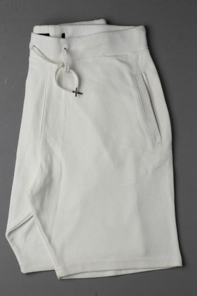 Zara men White Plain Shorts - leftover.pk