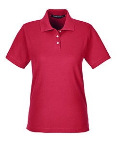 Devon & Jones Women's Cotton Pique Polo