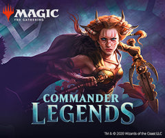 Commander Legends Prerelease This Saturday!