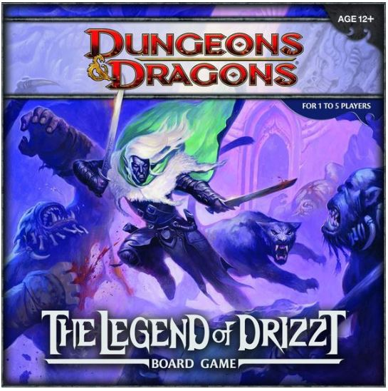 D&D - Legend of Drizzt: Board Game | All Aboard Games