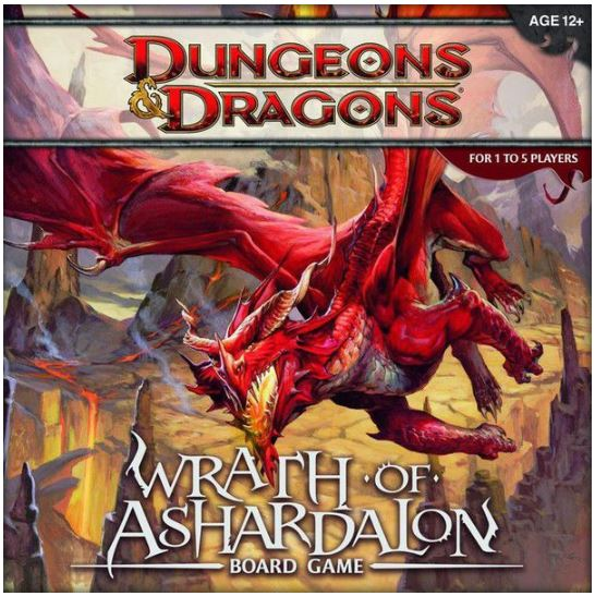 D&D - Wrath of Ashardalon: Board Game | All Aboard Games