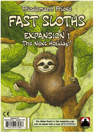 Fast Sloths - The Next Holiday! | All Aboard Games