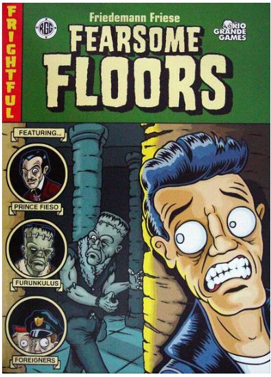 Fearsome Floors | All Aboard Games