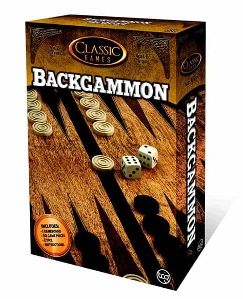 Classic Games - Backgammon | All Aboard Games