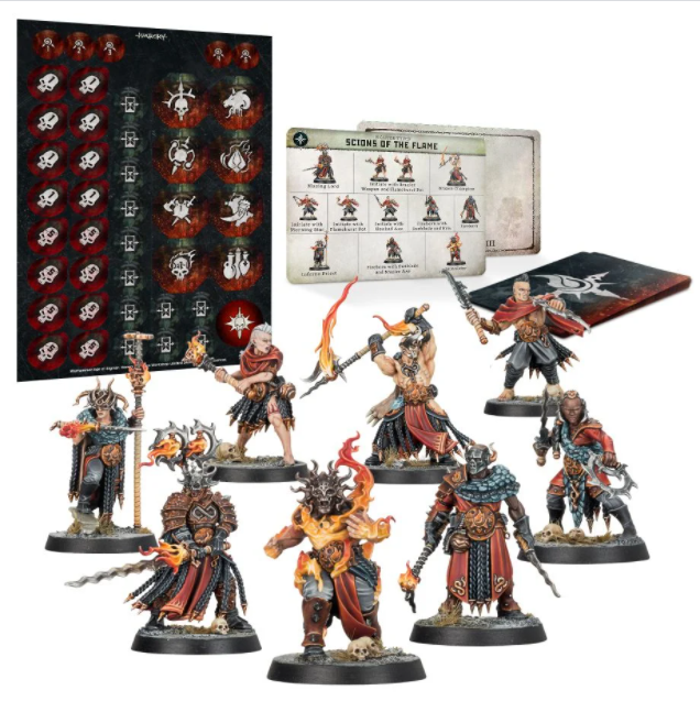 Warhammer: Age of Sigmar: Warcry - Scions of the Flame | All Aboard Games