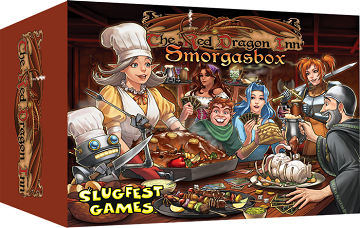 The Red Dragon Inn - Smorgasbox | All Aboard Games