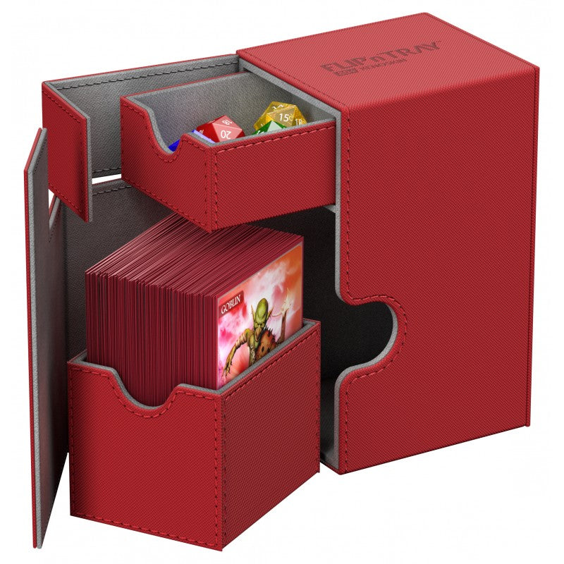 Deck Box - Flip 'n' Tray Xenoskin Deck Case: 80 | All Aboard Games
