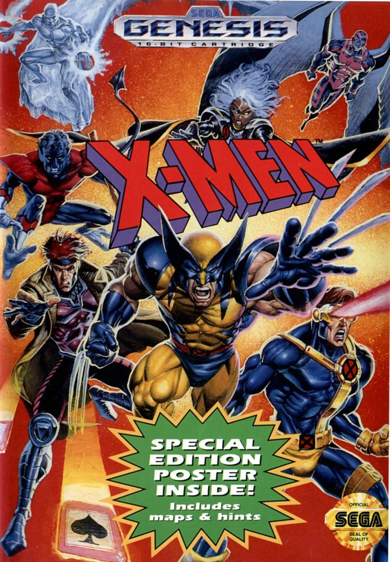 Sega Genesis - Xmen | All Aboard Games