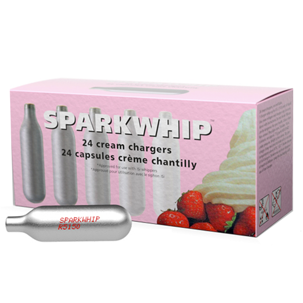 Sparkwhip Cream Chargers 24 Pack
