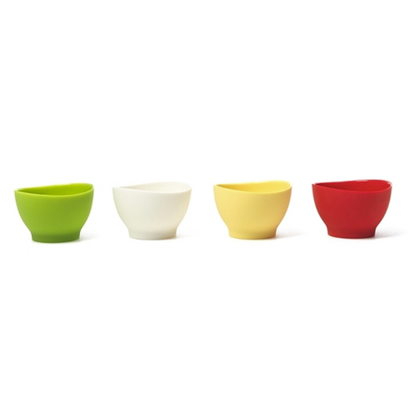 Flex~it Flexible Pinch Bowls, Set of 4