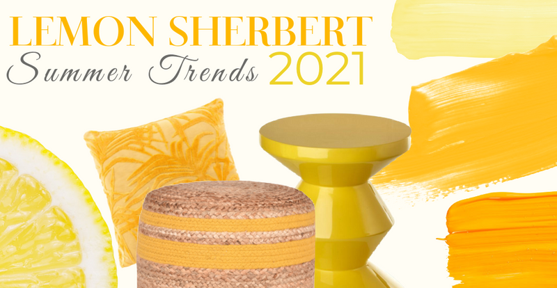 DUTCH FURNITURE | LEMON SHERBERT COLLECTION | YELLOW FURNITURE