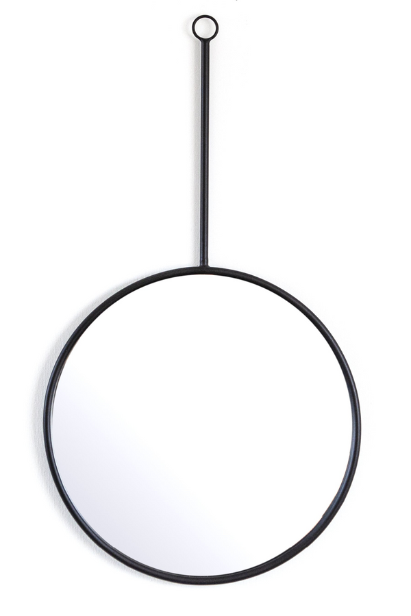 Black Pendulum Hanging Mirrors L (2) | By-Boo Womack | DutchFurniture.com