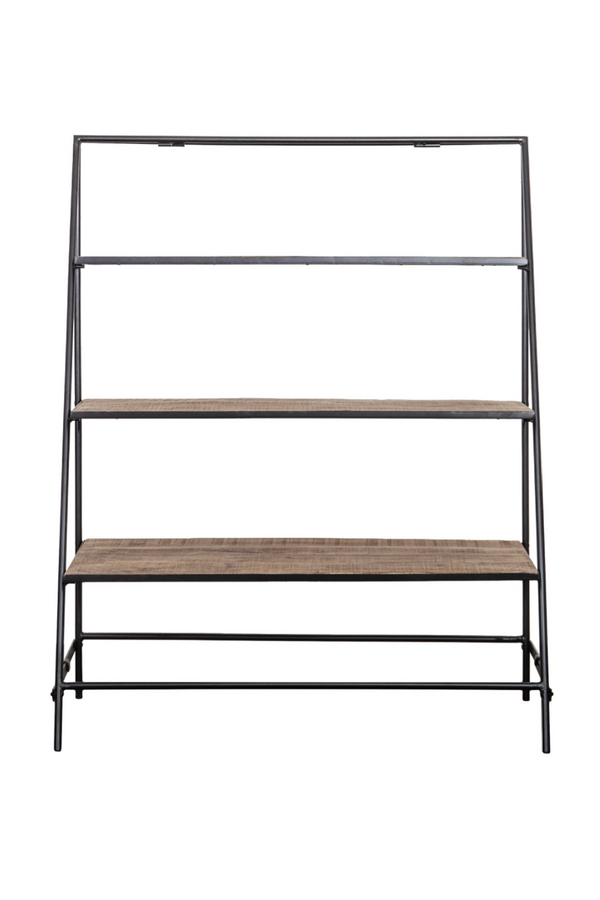 Decorative Display Ladder Bookcase | By-Boo Wide Angle | DutchFurniture.com