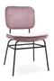 Blush Velvet Lounge Chair | By-Boo Vice | DutchFurniture.com