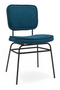 Teal velvet Lounge Chairs (2) | By-Boo Vice | DutchFurniture.com