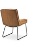 Cognac Suede Accent Chair | By-Boo Montana | DutchFurniture.com