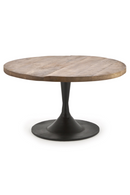 Round Wooden Coffee Table (L) | By Boo Tornado | DutchFurniture.com