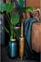 Antique Gold Bottle Vase | By-Boo Nile | DutchFurniture.com