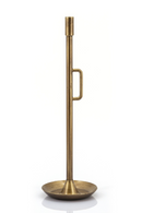 Small Brass Metal Taper Holders (2) | By Boo Wick | DutchFurniture.com