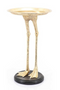 Gold Bird Leg Side Table | By-Boo Bolt | DutchFurniture.com