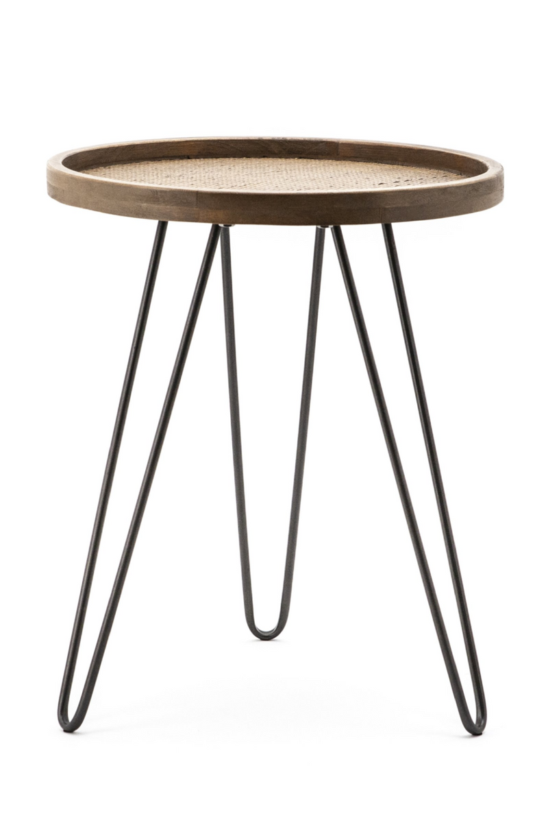 Round Hairpin Leg End Table (S) | By-Boo Drax | DutchFurniture.com