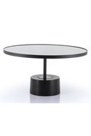 Rounded Pedestal Coffee Table (L) | By-Boo Dongol | DutchFurniture.com