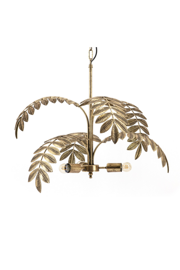 Gold Metal Tree Chandelier | By-Boo Unbelievable | DutchFurniture.com