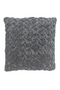 Dark Gray Velvet Throw Pillows (2) | By-Boo Allen | DutchFurniture.com
