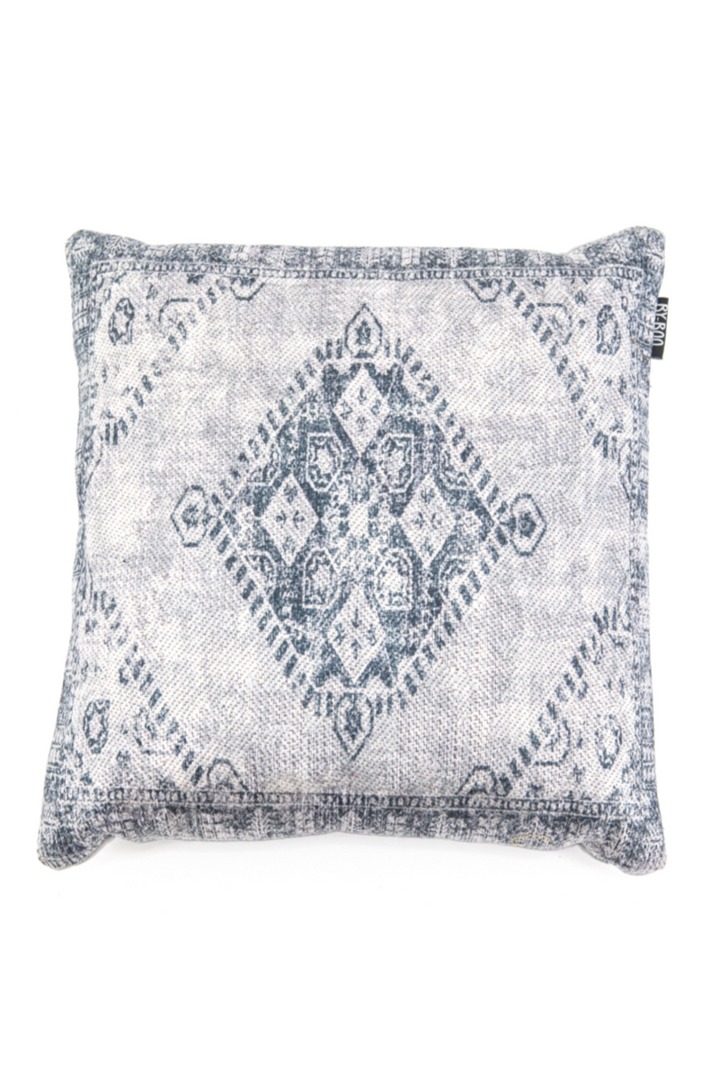 Square Gray Woven Throw Pillows (2) | By Boo River | DutchFurniture.com
