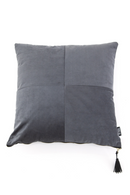 Square Gray Corduroy Throw Pillows (2) | By Boo Faith | DutchFurniture.com