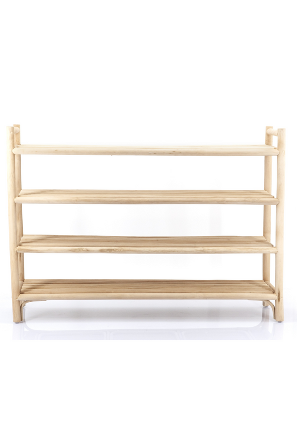 Rattan Storage Shelf Rack | By-Boo Multipurpose | DutchFurniture.com