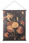 Flower Bamboo Roll Up Wall Art (L) | By-Boo Miyagi floral | DutchFurniture.com