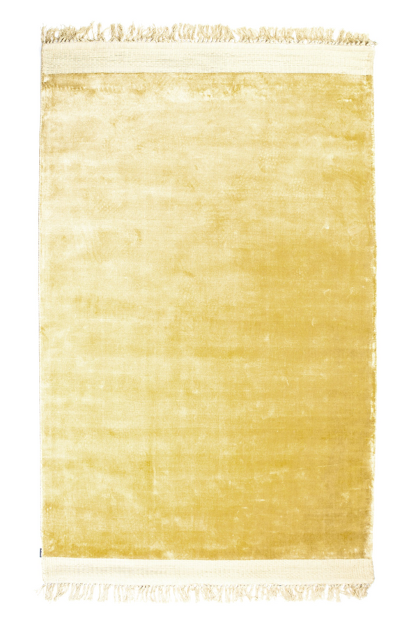 Yellow Fringe Area Rug 5' x 7′5″ | By Boo Peshi| DutchFurniture.com