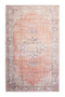 "Red Vintage Floral Area Rug 6'5"" X 9'5"" 